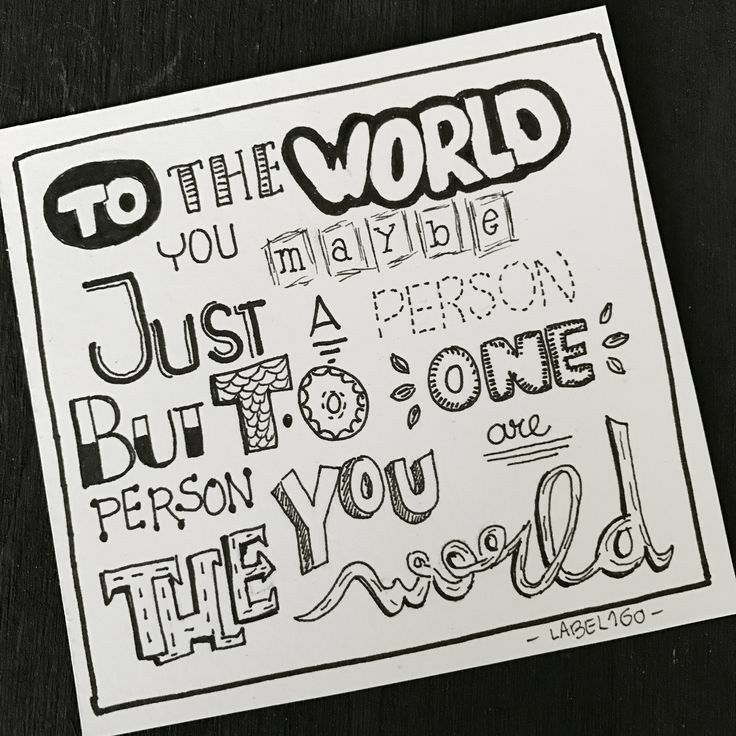 Pin by Shiraz ezra on back | Doodle quotes, Hand lettering ...