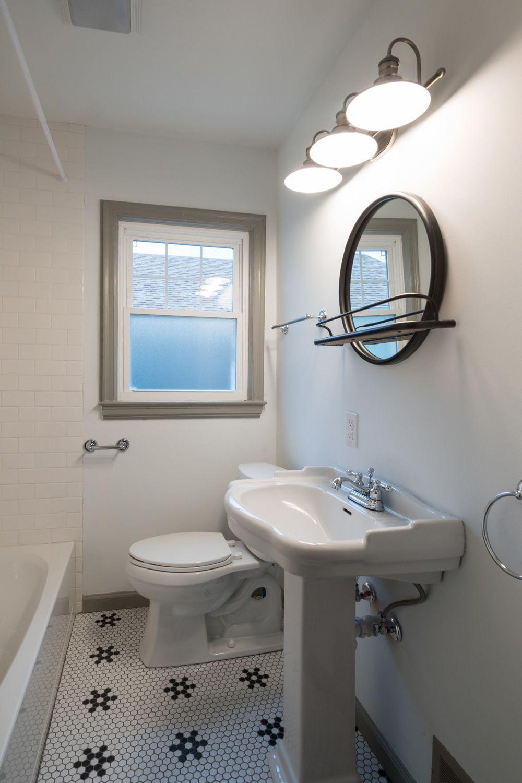 Bathroom Remodel Indianapolis In Tile Flooring Snowflake Pattern