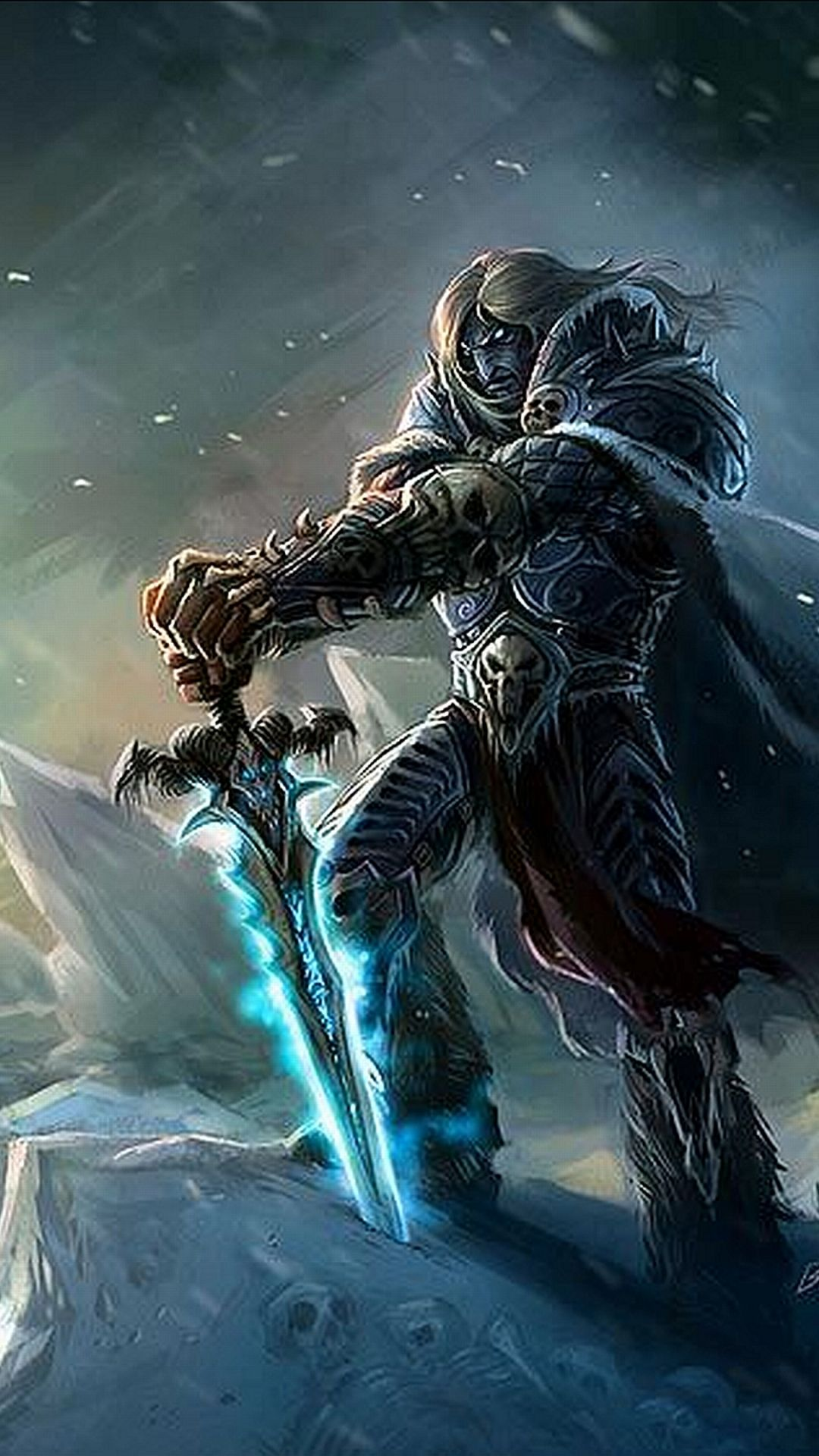 Arthas WOW HD desktop wallpaper Widescreen High Definition