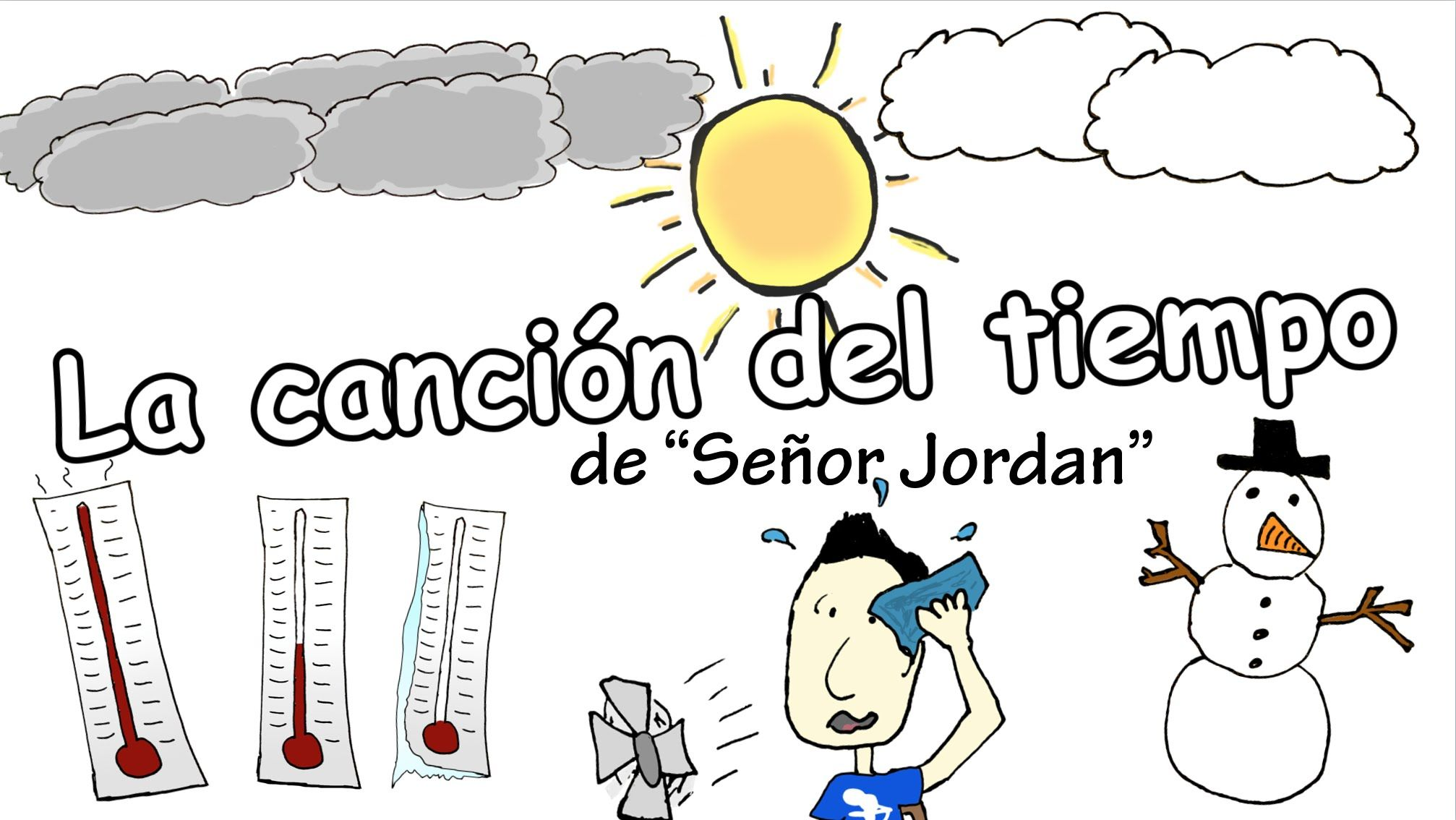 The Weather Song In Spanish La Cancion Del Tiempo Y El Clima