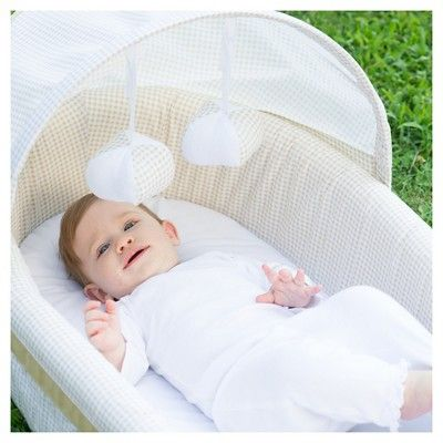 Lulyboo Portable Baby Bassinet To-Go Infant Co-Sleeper - Natural ... 17569b83d