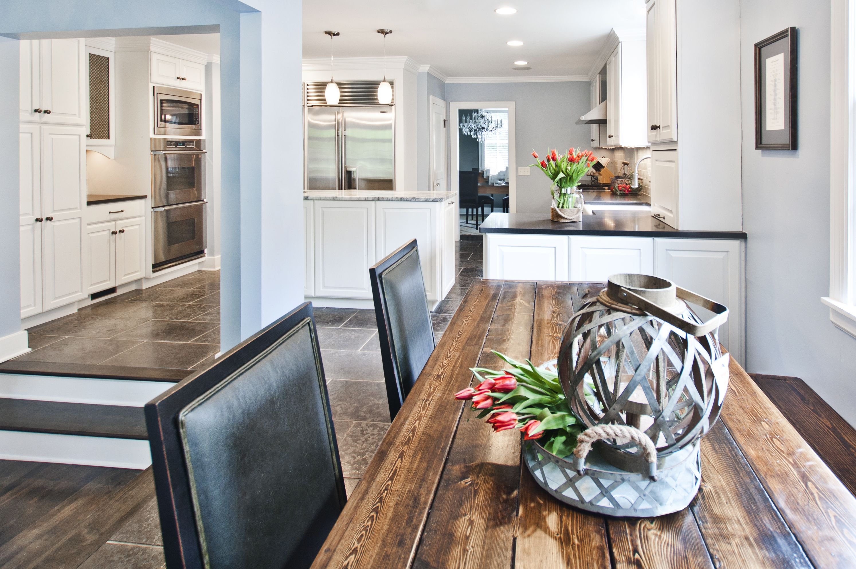 Recessed lighting can add a modern touch to any home. When ...