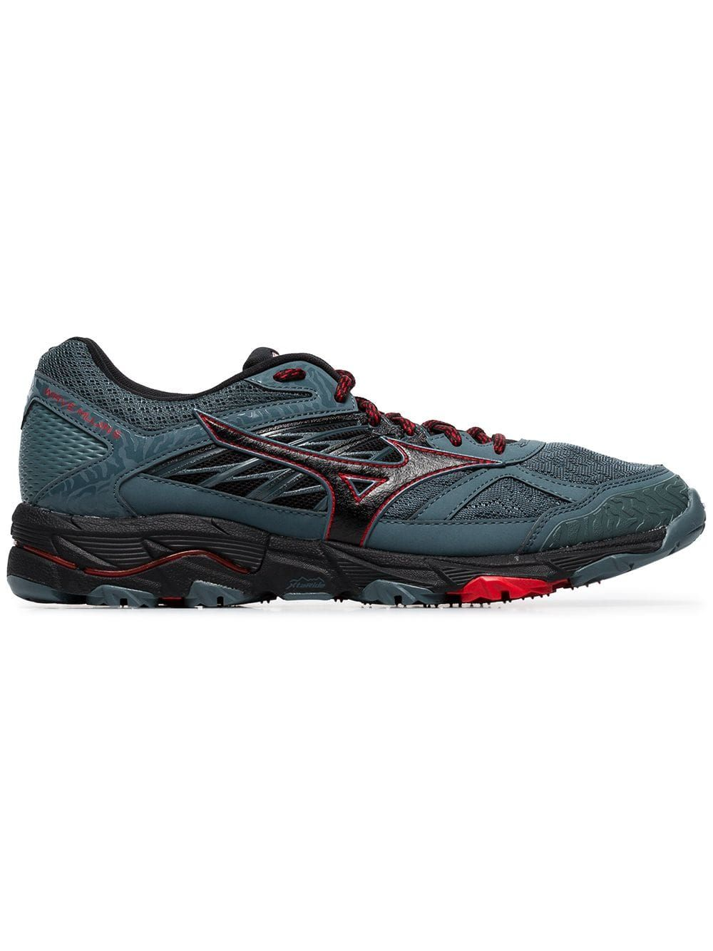 check out 223b7 b9ee9 MIZUNO MIZUNO BLUE AND BLACK WAVE MUJIN 5 LOW TOP SNEAKERS.  mizuno  shoes