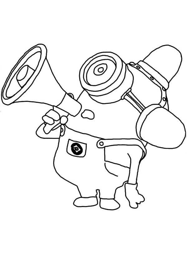 Minion Coloring Pages Isaac birthday Pinterest Free printable - new minions coloring pages images