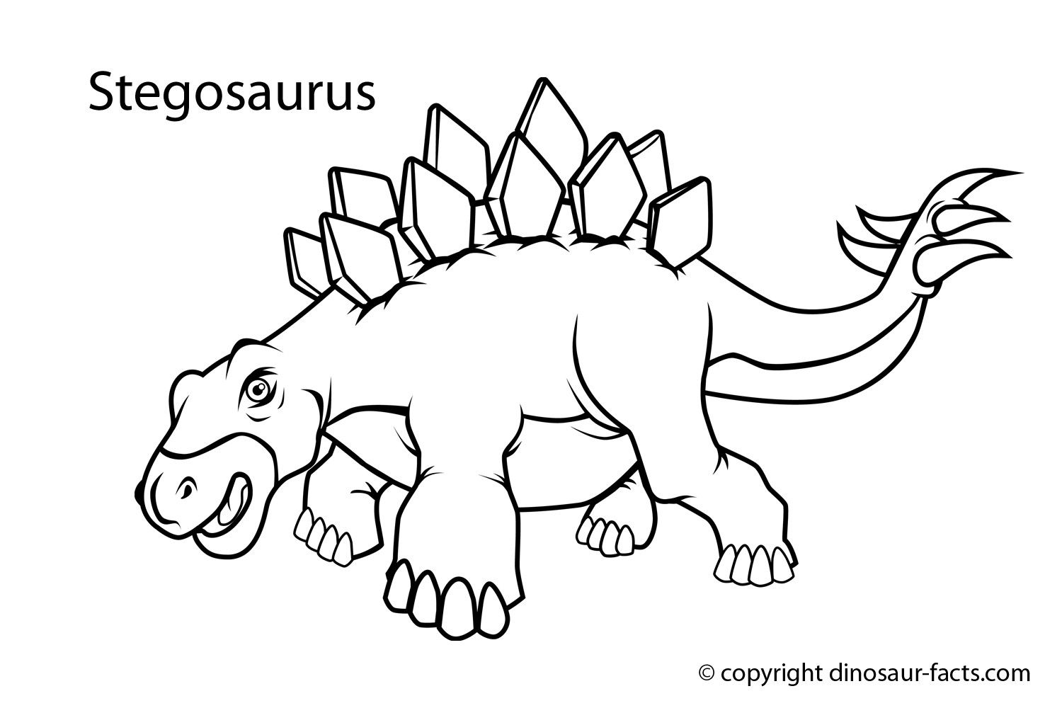 10 Images Of Stegasaurus Dinosaur Coloring Pages Dinosaur