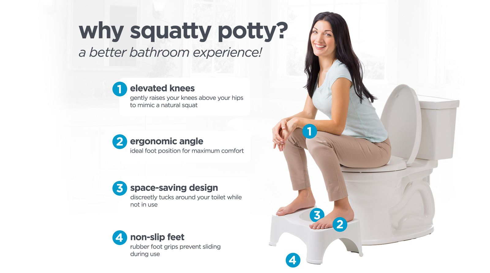 Official Site Of The Original Squatty Potty Toilet Stool