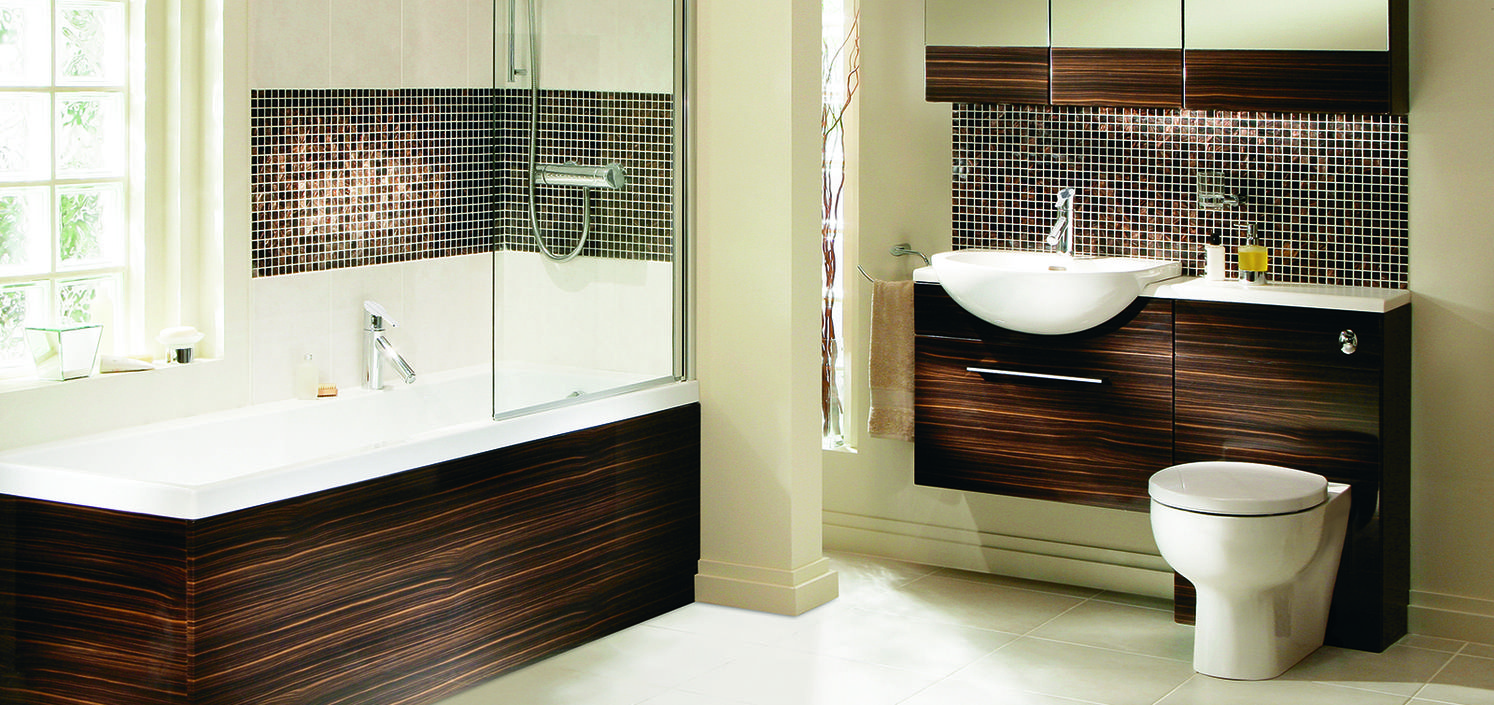 Heritage Fresso Zebrano Bathroom Furniture