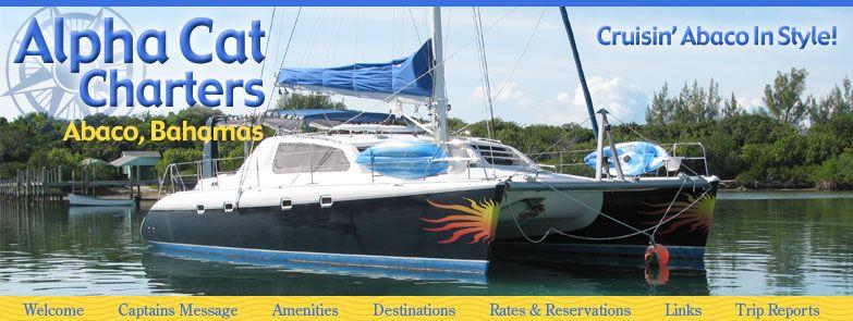 Alpha Cat Catamaran Charter, Abaco, Bahamas, boat charters, bare boat charters, sailing charters, fishing charters, deserted beaches