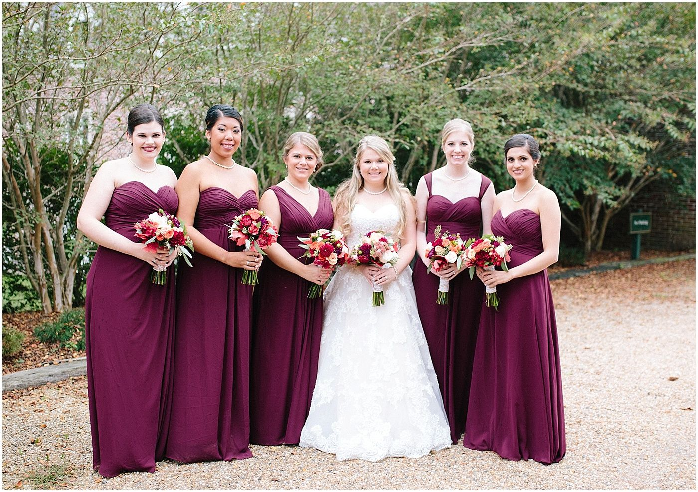 Beautiful fall color palette for ava clara bride chloes wedding beautiful fall color palette for ava clara bride chloes wedding at williamsburg winery chiffon bridesmaid ombrellifo Gallery