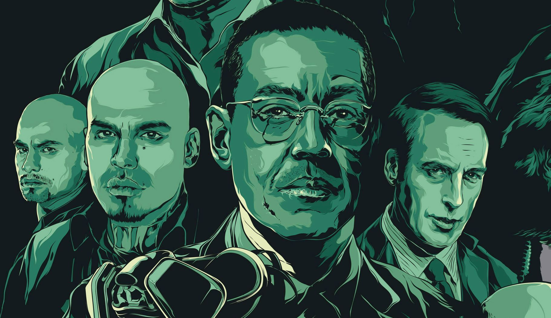 Breaking bad breaking bad by ken taylor 24 x 36 8 color breaking bad poster gamestrikefo Image collections