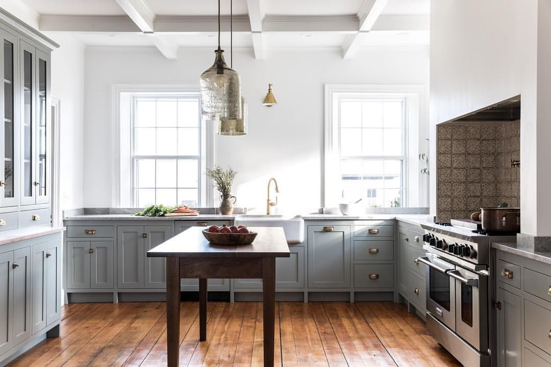 Best Kitchen Cabinets Painted In Farrow Ball Pigeon 640 x 480