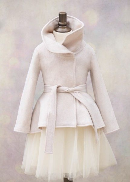 Joanna Coat in Silver Lining | This warm and stylish coat features a chic…