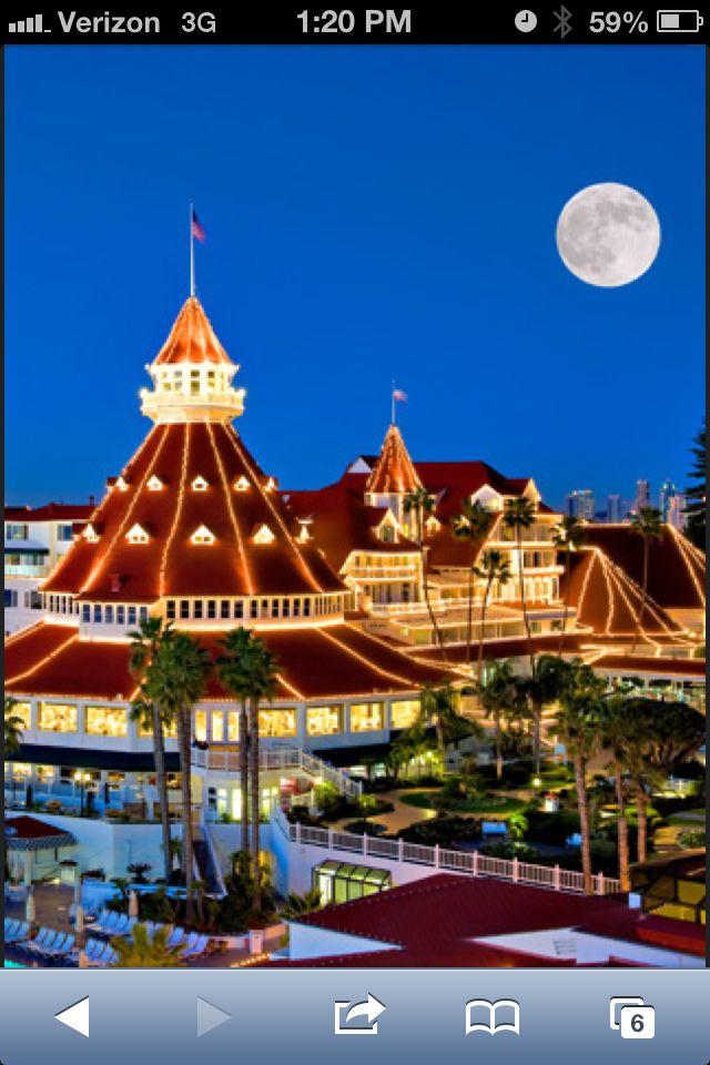 Coronado Island One Last San Diego Sunset And Monday: Hotel De Coronado San Diego