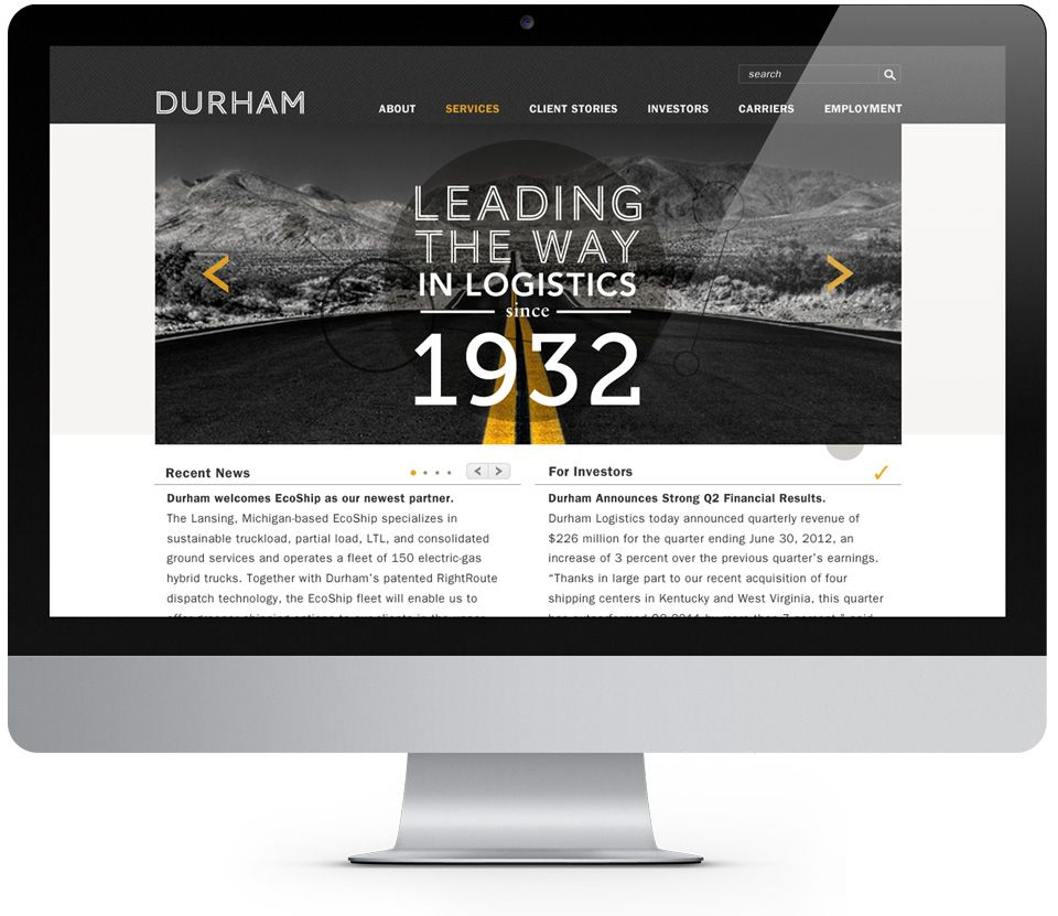 Durham Logistics Homepage Lansing Michigan Logistics Lansing