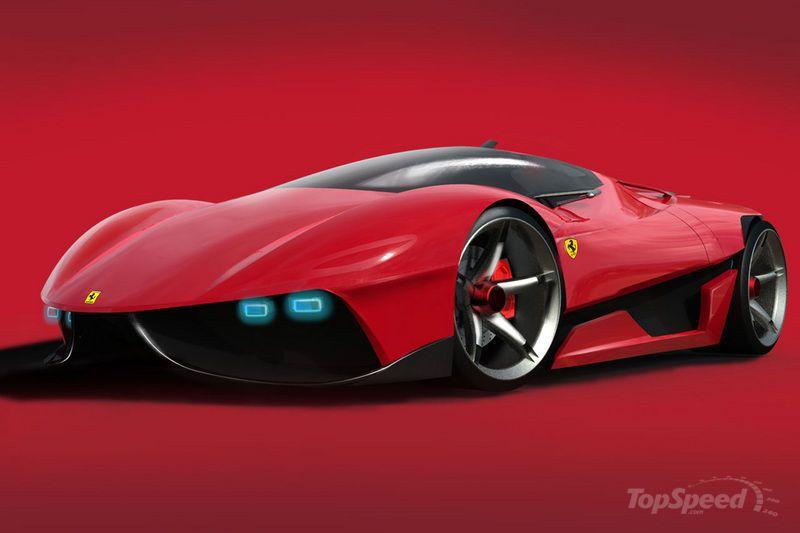 Ferrari Ego Concept Study Pictures Photos Wallpapers Top Speed Concept Cars Ferrari Super Cars