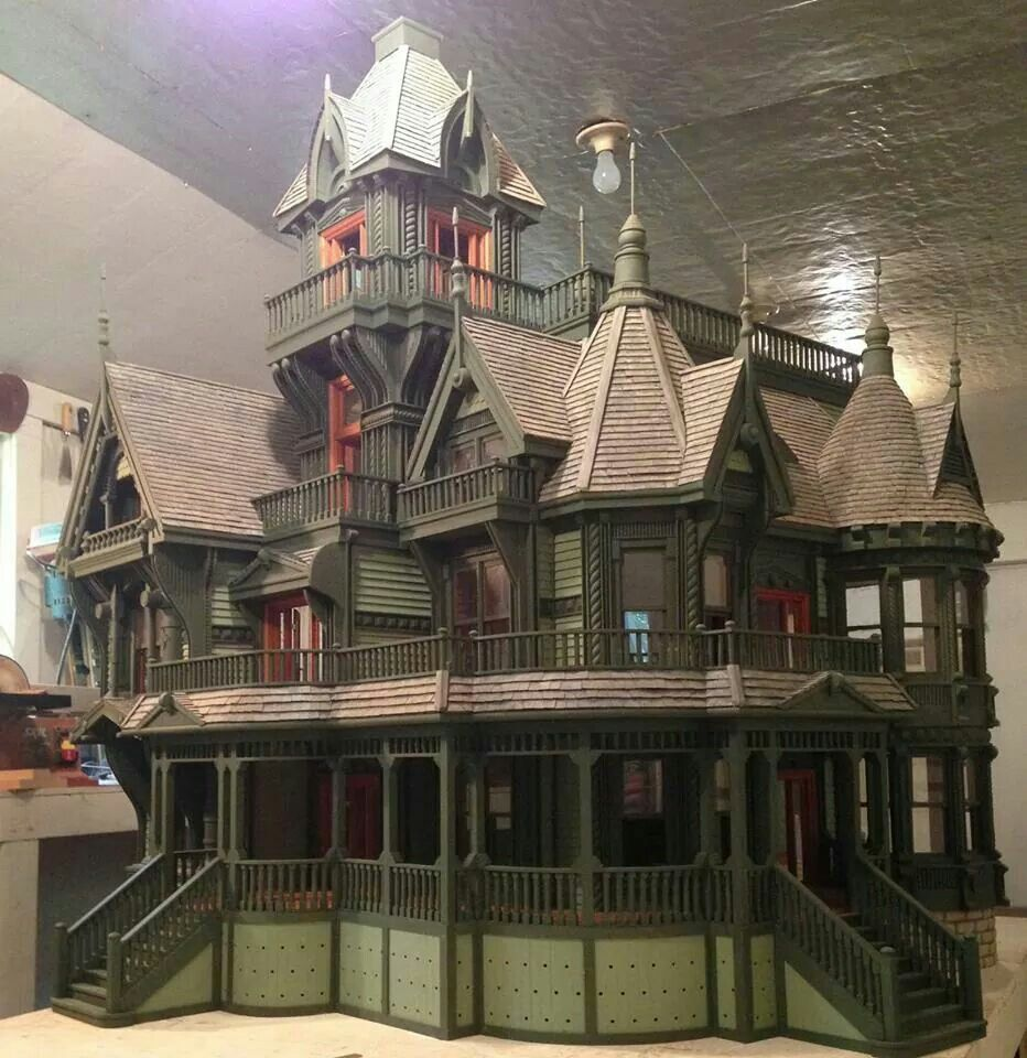 Carson Mansion By Ron's Dollhouses OMG Imagine All The
