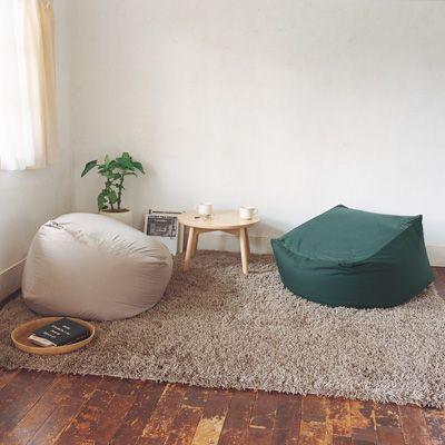 無印良品 椅子カバー ほぼ新品 綿平織チェア(本体)用カバー/ベージュ