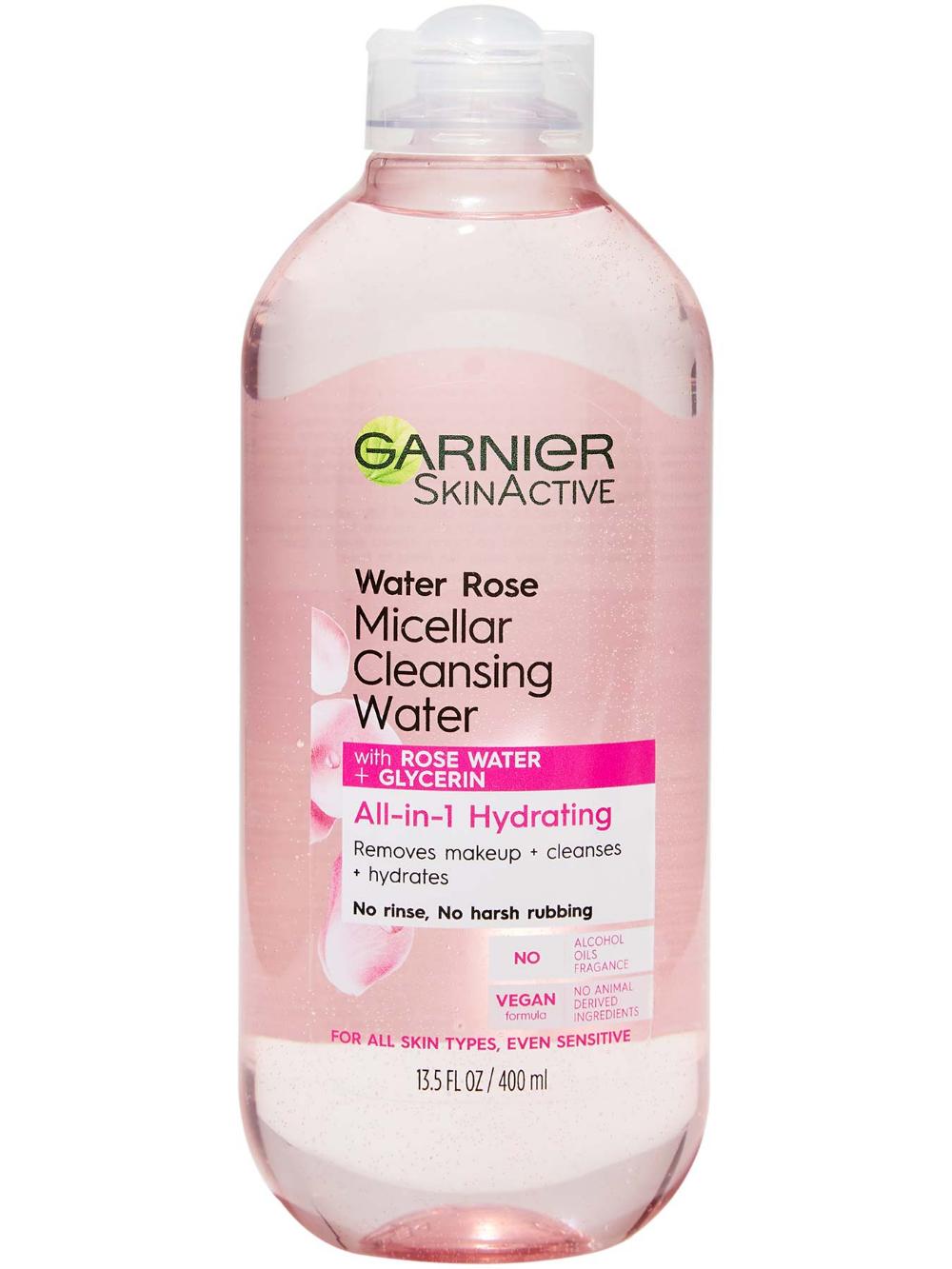 Water Rose Micellar Cleansing Water in 2020 Facial