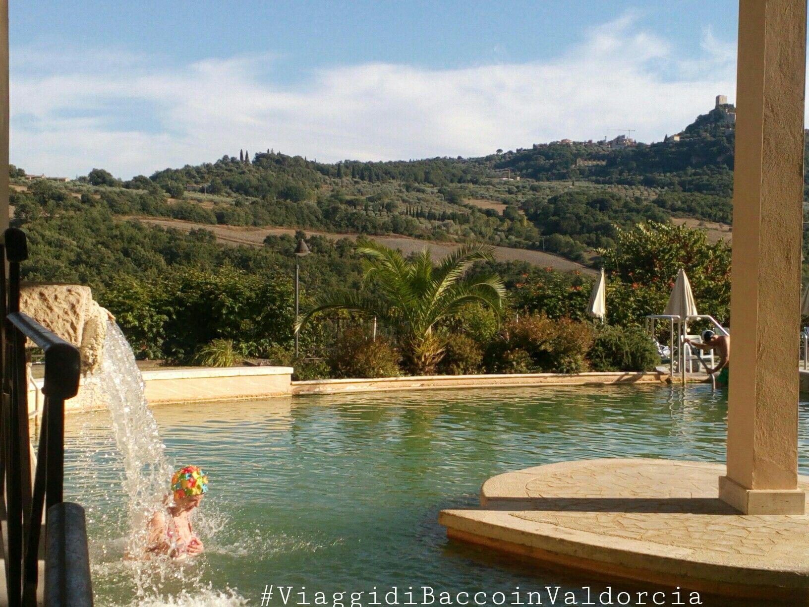 ViaggidiBaccoinValdorcia La piscina termale a Bagno Vignoni ...