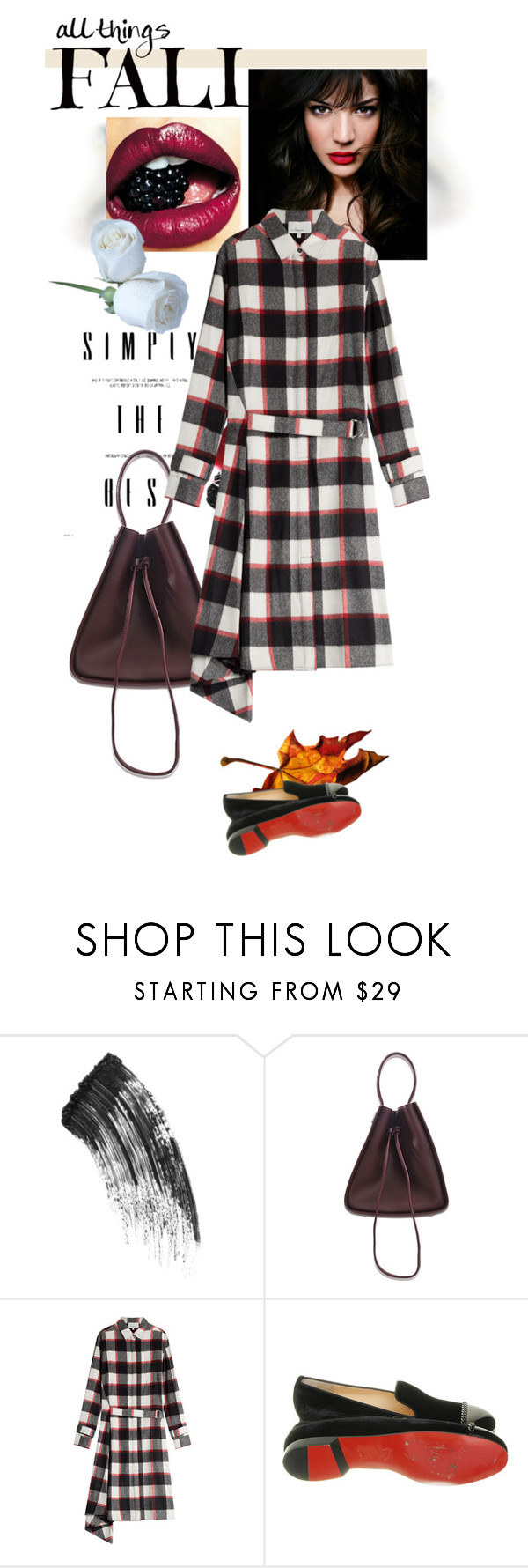 """""""October 17"""" by anny951 ❤ liked on Polyvore featuring Charlotte Tilbury, IVI, 3.1 Phillip Lim and Christian Louboutin"""