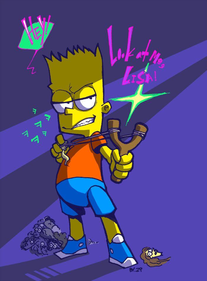Bart Simpson by https://www.deviantart.com/ziznine69 on