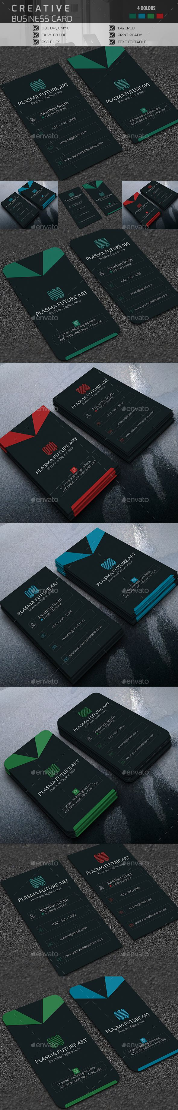 Creative Business Card | Business cards, Business and Graphics