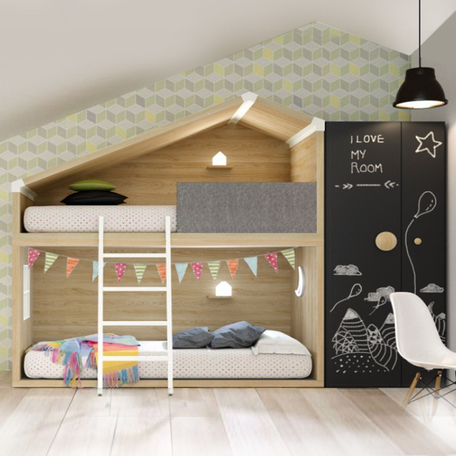 Imported Furniture Online: COTTAGE Bunk Beds And Storage. Imported From Spain And