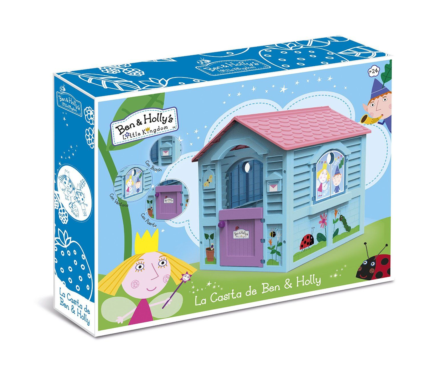 erta Casita infantil Ben and Holly Chicos IndalChess