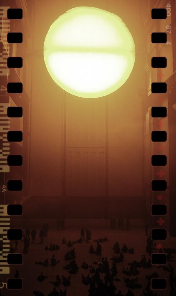 the weather project, Tate Olafur Eliasson