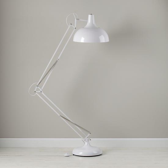 The Land Of Nod Kids Lighting Giant White Floor Lamp In All