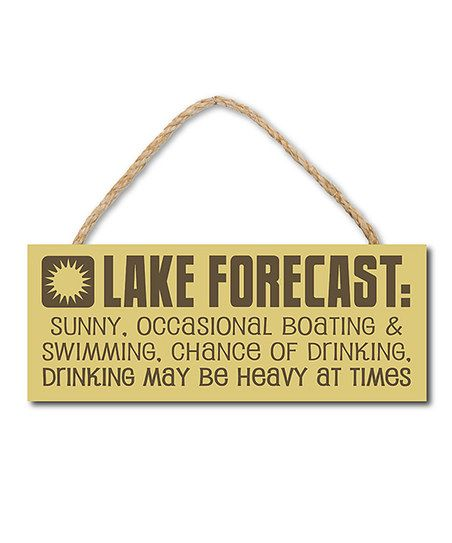 This hand silk-screened sign expresses a fun and lighthearted ...