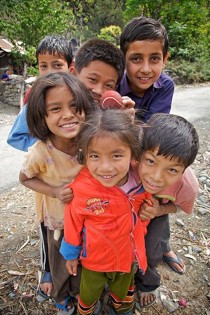 Village kids, Himachal Pradesh