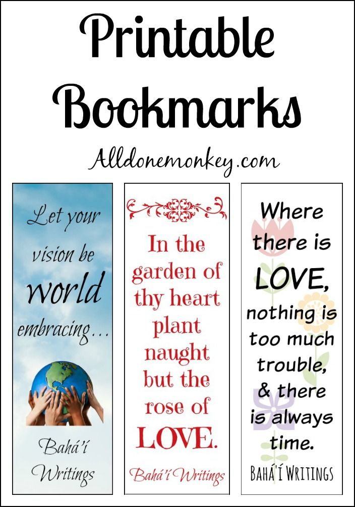 Printable bookmarks for ayyam i ha printable bookmarks bookmarks cards fandeluxe Image collections