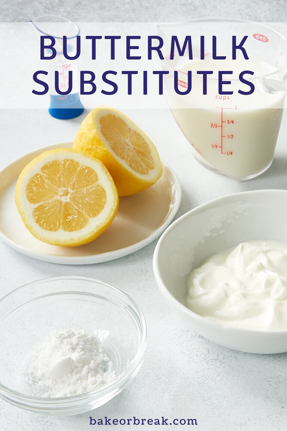 Buttermilk Substitutes In Baking In 2020 Buttermilk Substitute Baking Ingredients Substitutions Baking Substitutes
