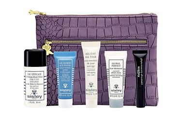 Sisley Paris beauty gift with 350.00purchase.