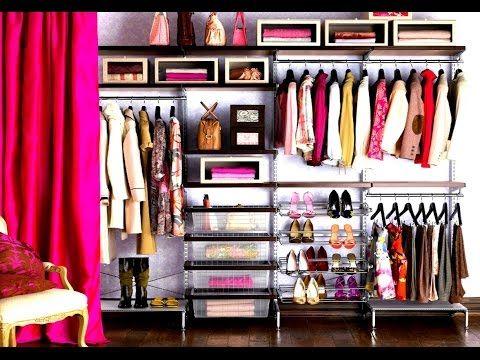 comment organiser son dressing youtube actus closet. Black Bedroom Furniture Sets. Home Design Ideas
