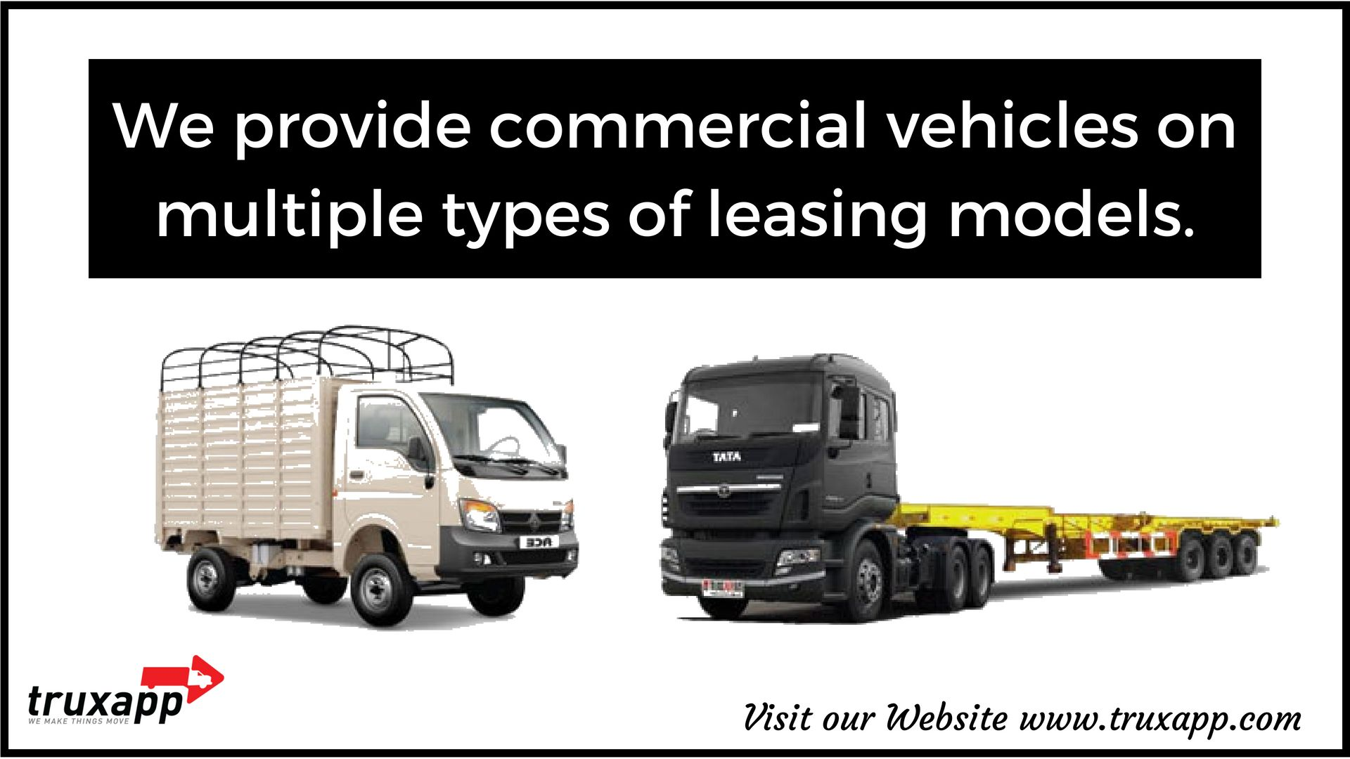 For online lorry booking truck rental and transportation