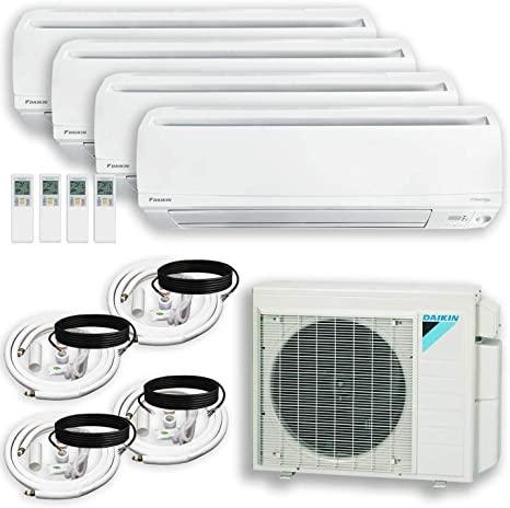 DAIKIN (4 Zone) 4MXS Air Conditioner Heat Pump + Maxwell
