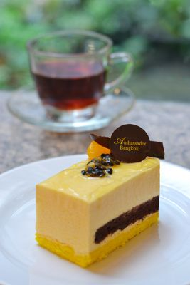 November Promotion - Passion Fruit Mousse Cake