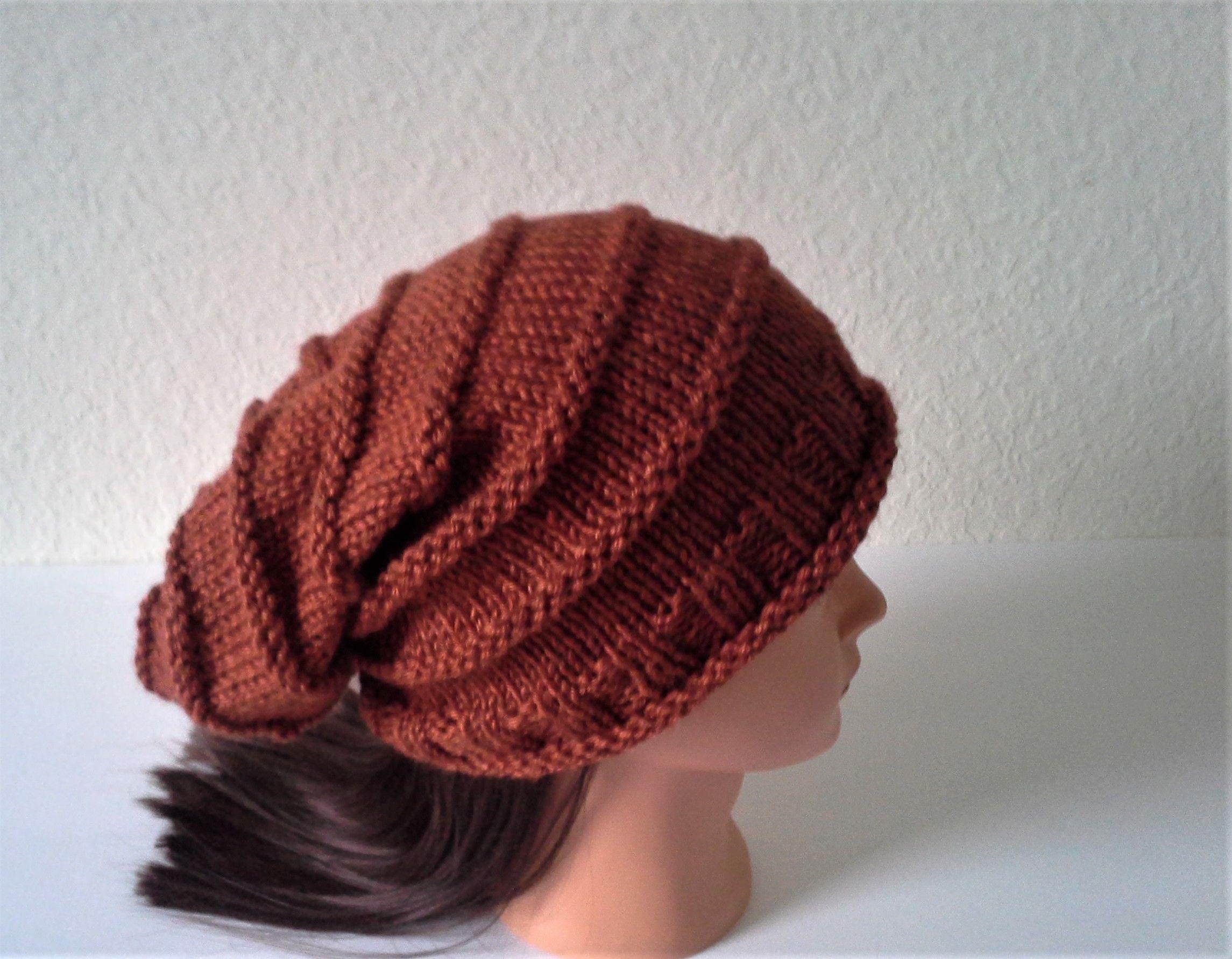 49bcd573234a2 Women s Slouchy Beanie Knit
