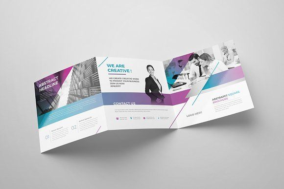 Corporate Square Brochure 02 Brochures Brochure Template And Template