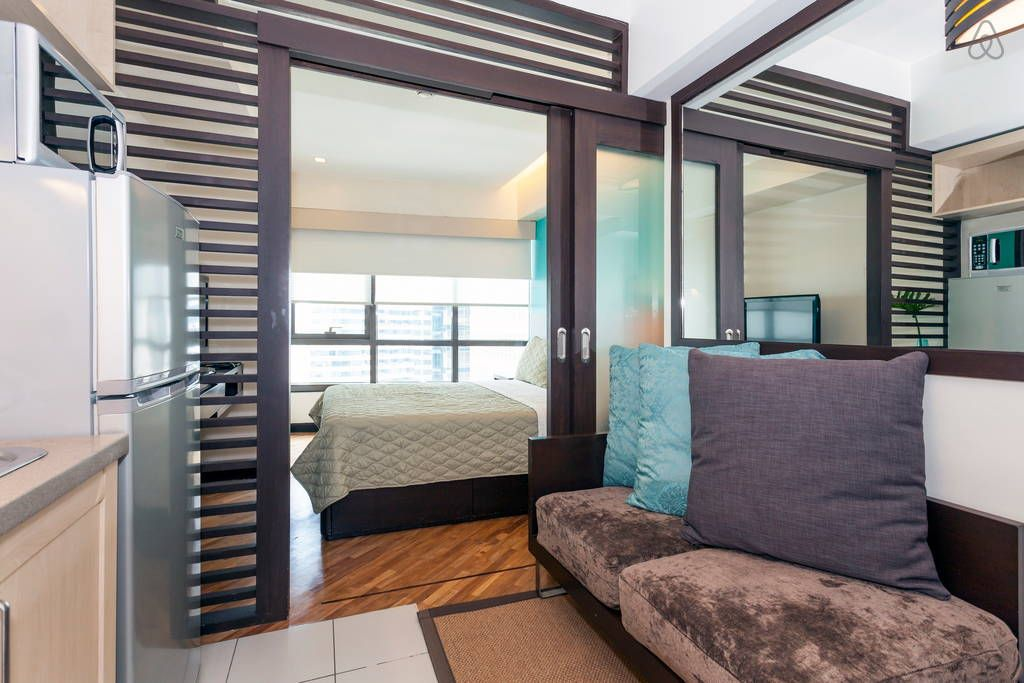 check out this awesome listing on airbnb hip and cozy rockwell makati studio apartments for. Black Bedroom Furniture Sets. Home Design Ideas