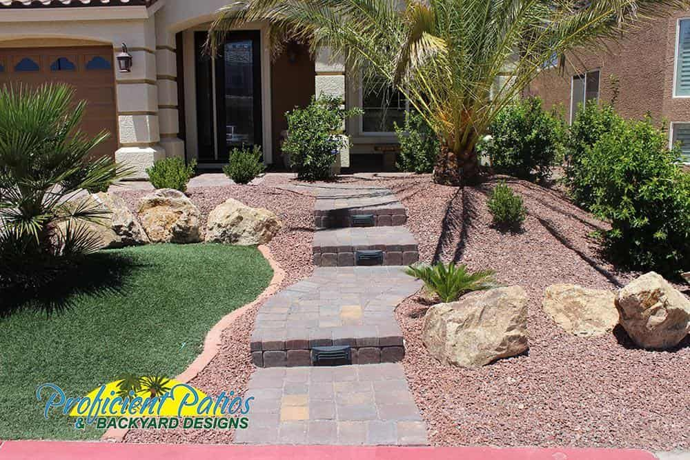Landscapes 117 Front House Landscaping House Landscape Backyard Water Feature