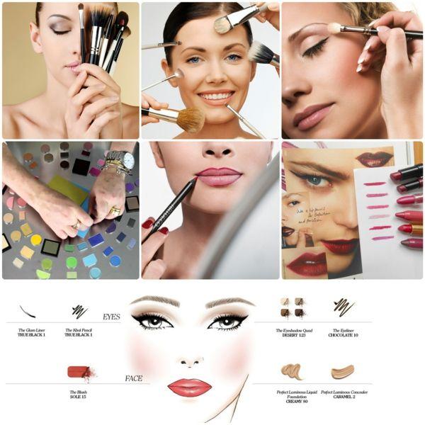 Schminktipps Für Perfektes Make Up Tagsüber Und Abends Make Up