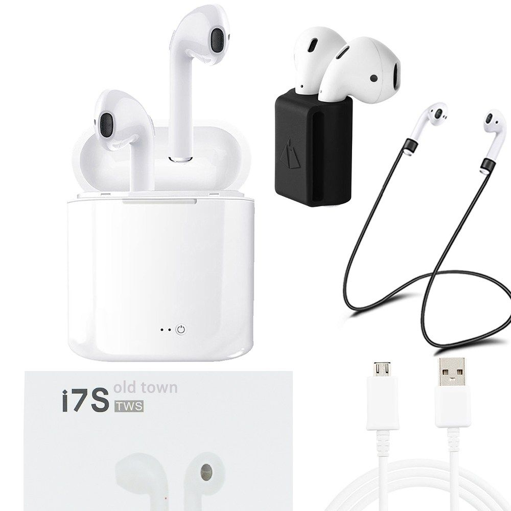 d0dab861766 Cheap old town for apple Xiaomi sony air pods i7s TWS Twins Wireless Ear  phones Bluetooth earpods hbq car Hifi With Mic Earbuds