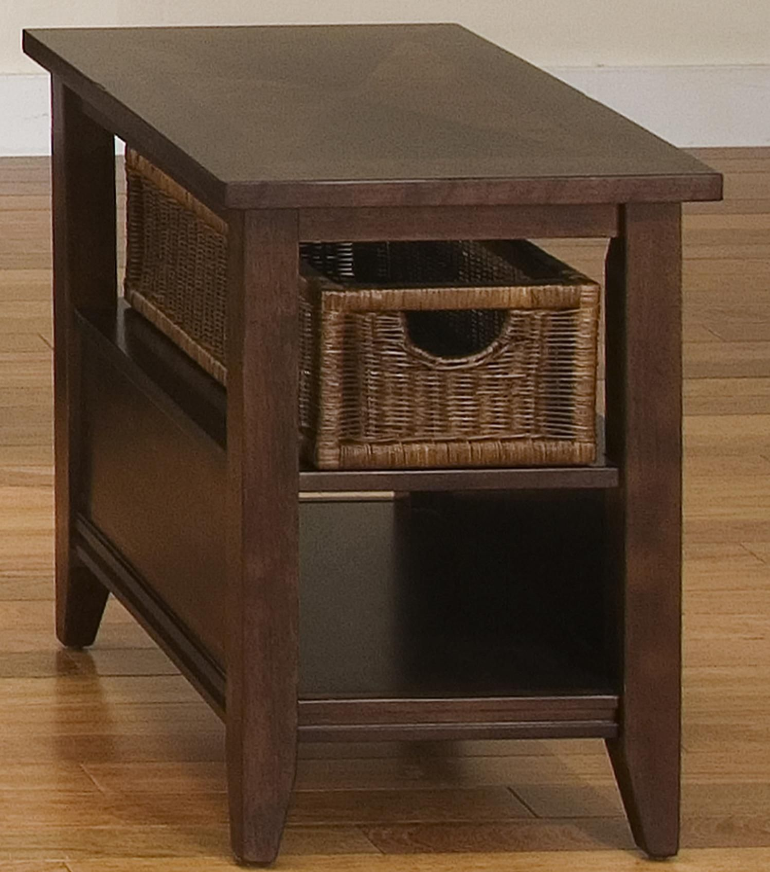 End Table With Wicker Basket Drawers httpezserverus