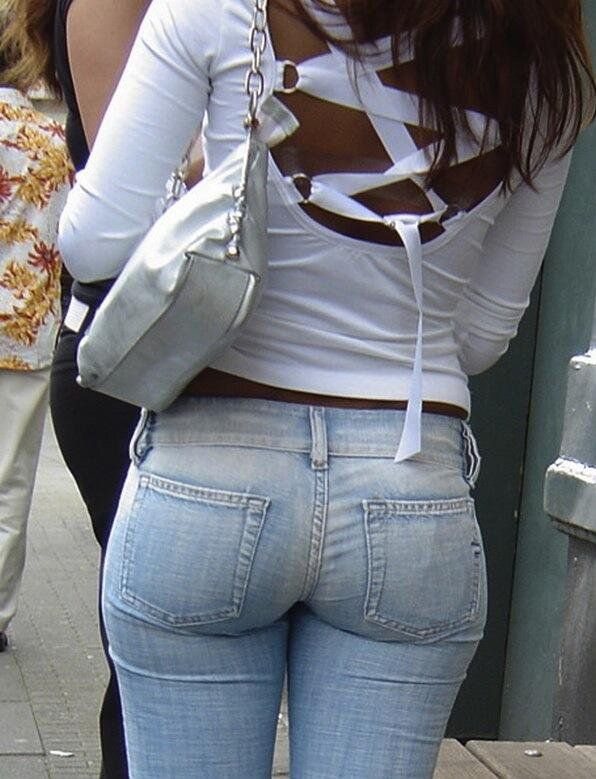 Milf Booty on Display in Tight Jeans