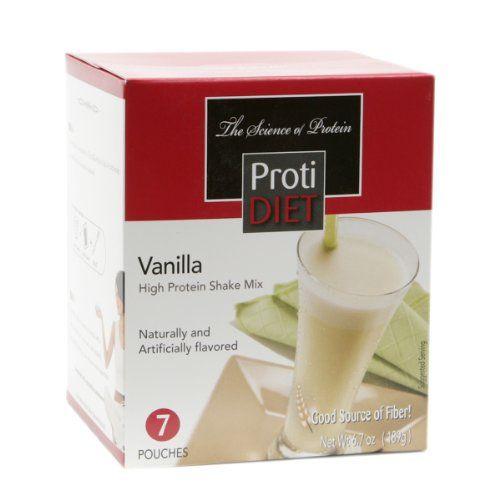 Protidiet Shake And Bars 7 Servings Diet Books Protein Shake Mix Vanilla Shake