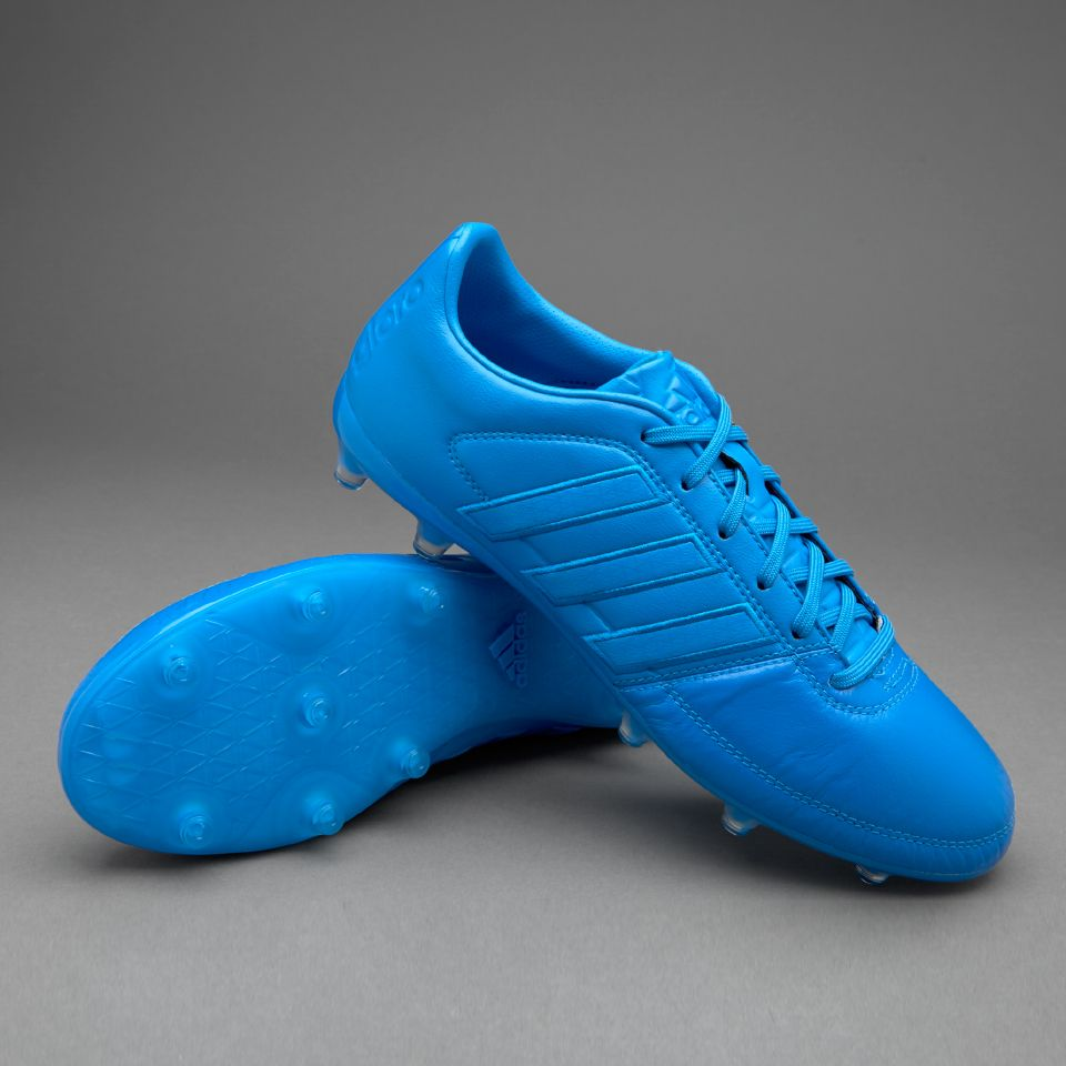 Adidas Gloro 16 1 Fg Shock Blue 3 Stripes Mens
