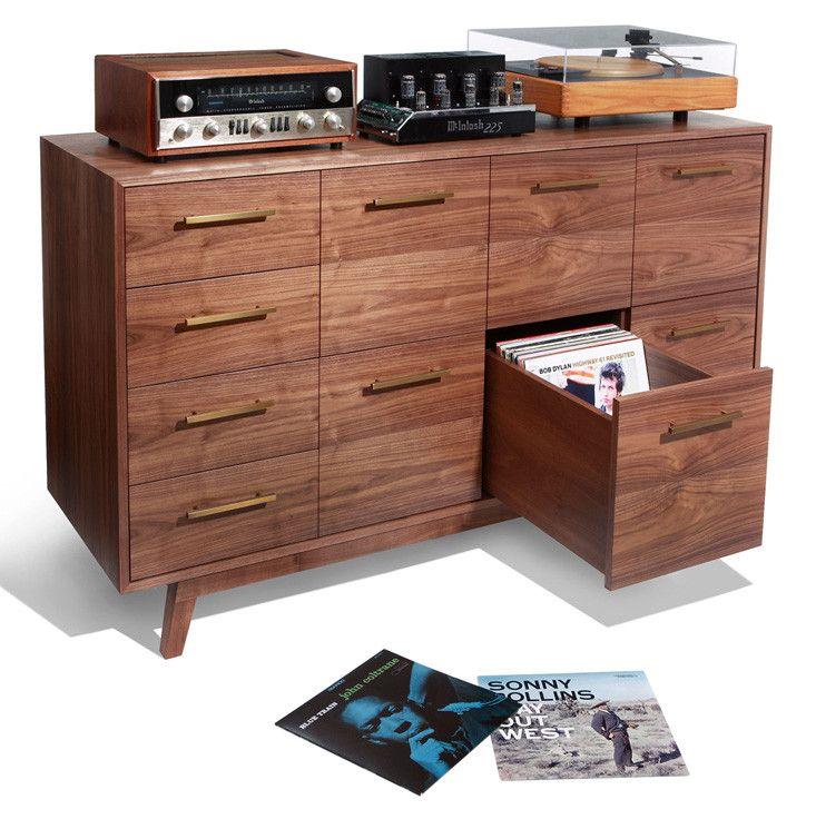 The Record Cabinet: for Vinyl Records – Atocha Design